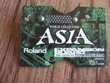 Roland SR-JV80-14 Asia expansion board card XV-5080 JV-2080 Fantom world guitar