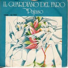 disco 45 GIRI IL GUARDIANO DEL FARO PAJASO - DOMANI