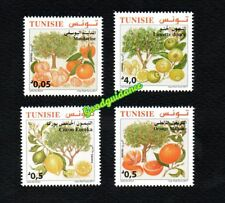 2017- Tunisia- Citrus fruits from Tunisia- Complete set 4v. MNH**