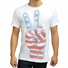 Bequem sitzende Tommy Hilfiger Herren-T-Shirts aus Baumwolle mit Motiv