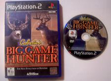 Cabela's Big Game Hunter PlayStation 2  PS2 Game Hunter Shooter PAL