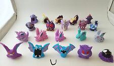 Pokemon Kid figure lot Skuntank Mismagius Nidoking Nidoran Arbok Venomoth Gengar