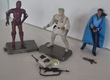 Vintage Star Wars Action Figure Hoth Topper R-3PO Lando Cal Rissian Lot of 3