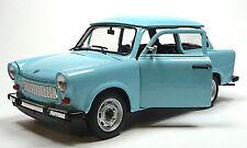 Trabant 601 deluxe 1:24 hellblau Modellauto ca. 16cm von WELLY im Fensterkarton