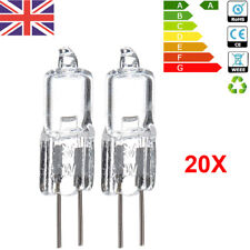 G4 Halogen Capsule Bulbs Light Replace 10W 20W 12 Volt 2 Pin Lamps UK