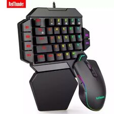 RedThunder Gaming Keyboard & Mouse, For Xbox One, PS4 & More Portable (Original)