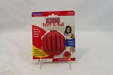 Kong Stuff A Ball Natural Rubber Dog Toy Red Medium