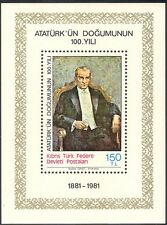 Cyprus (Turkish) 1981 Kemal Ataturk/People/Politicians/Military impf m/s n42896