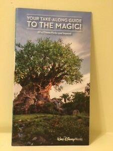 Disney World Your Take Along Guide to the Magic Magazine all 4 Theme Parks