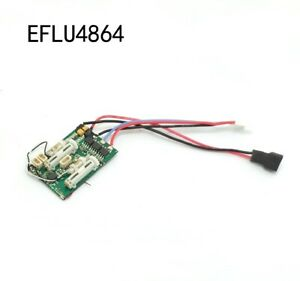 6CH EFLU4864 6 Ch Ultra Micro Receiver BL ESC For E-flite airplane AS3X DSM2 Tra