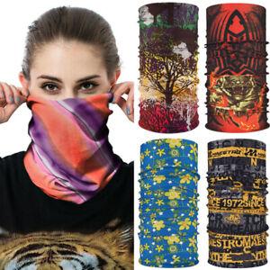 Face Mask Neck Scarf Wristband Headband Wrap Tube Scarf Bandana Art Printed New