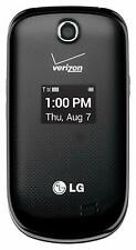 Lg Revere 3 Vn170 - Black (Verizon) Prepaid Page Plus 3G Camera Flip Cell Phone