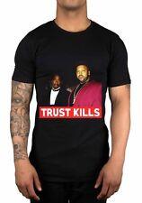 Trust Kills Feat Tupac Shakur Suge Knight Deathrow T-Shirt 2Pac Machiaveli