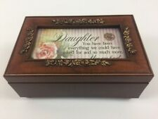 Cottage Garden Daughter Wooden Music Box Italian Inspired You Light Up My Life