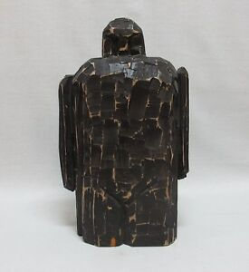 Mid-Century Modern (MCM) Carved Sculpture