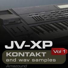 XP80 + JV2080 SAMPLES KONTAKT 149 NKI 1280 WAV 24b VOL1 MAC PC MPC LOGIC FL TRAP