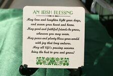 Irish Blessing Coasters x 100