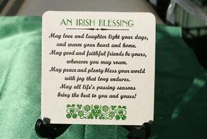 Irish Blessing Coasters x 50