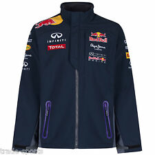 INFINITI RED BULL RACING TEAMLINE F1 SOFTSHELL JACKET NAVY SIZE S PEPE JEANS