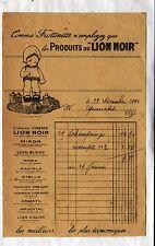 """MONTROUGE (92) USINE PRODUITS d'ENTRETIEN CIRAGE """"LION NOIR"""" en 1926"""