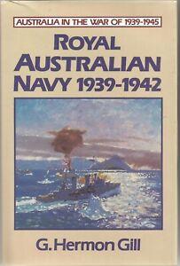 Royal Australian Navy 1939-1942,G. Herman Gill, Like New