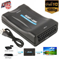 Scart To HDMI Converter Audio Video Adapter For 1080P STB HDTV Sky Box UK