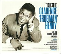 THE BEST OF CLARENCE FROGMAN HENRY 2 CD BOX SET - AIN'T GOT NO HOME & MORE