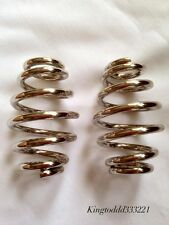 """Motorcycle 3"""" Barrel Coiled Solo Seat Springs for Harley Chopper Bobber Softail"""