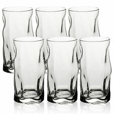 6x Bormioli Rocco Dinner 46cl Tall Glass Hi-Ball Tumbler Drink Cup Hi Ball Party