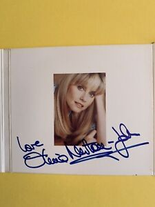 Olivia NEWTON-JOHN autographed Warm and Tender promo CD