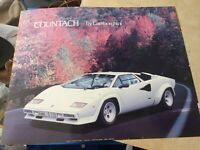 1986 Lamborghini Countach 20x16 Poster Art Sports Car Garage 80s Saint Chateaux