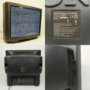 "MONITOR SCHERMO TV TELEVISORE SONY TRINITRON SPECTRUM SOUND KV-29X2D 50Hz 29"""
