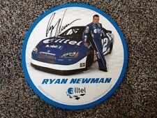 *RYAN NEWMAN*SIGNED*AUTOGRAPHED*PHOTO*CARD*NASCAR* #12*ALLTEL*COA*