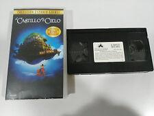 EL CASTILLO EN EL CIELO - VHS ED ESPAÑOLA HAYAO MIYAZAKI STUDIO GHIBLI UNICO!!!