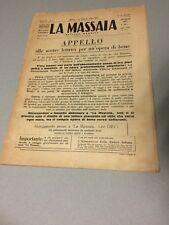 RIVISTA MASSAIA MODERNA DONNA CASA ECONOMIA DOMESTICA LAVORI FEMMINILI MODA 1934