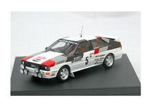 """Audi Quattro #5 Mikkola-Hertz """"Rallye Monte Carlo"""" 1981 (Troféu 1:43 / #1602)"""
