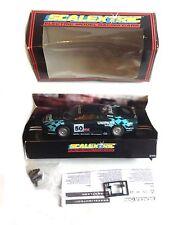 SCALEXTRIC SLOTCAR JAGUAR RACING CAR with box & accessories NICE!