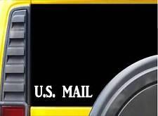 U.S. Mail L168 8 inch Sticker Mail carrier decal