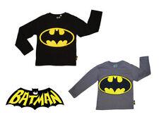T-shirts et hauts noirs à manches longues pour garçon de 2 à 16 ans en 100% coton