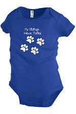My Siblings Have Tails Funny One-piece Baby Bodysuit