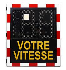 Traffic radar speed sign