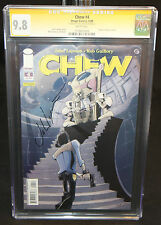 Chew #4 - Signed by writer John Layman - CGC Signature Series Grade 9.8 - 2006