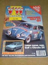 VW MOTORING - CONCOURS GTi - June 1994