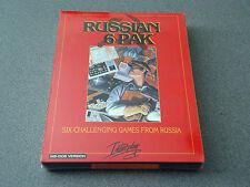 "Russian 6 Pak   3.5"" Disks  MS-DOS   NIB   NEW"