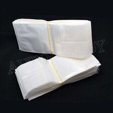"100 Ziplock Clear Plastic White Bags 4"" x 2.75"" Wholesale Lot"