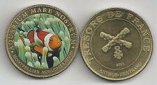 Montpellier Aquarium Le  Poisson Clown Médaille colorisée 2011 ARTHUS BERTRAND