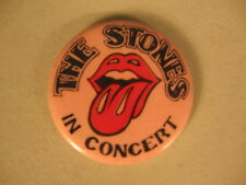 The Rolling Stones in Concert Pinback Button 1.5""