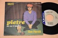 "GIAN PIERETTI 7"" 45 PIETRE 1°ST ORIG 1967 COLLEZIONISTI ESIGENTI TOP EX++ !!"