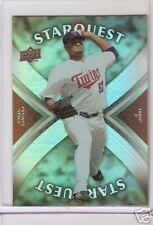MLB 08 UPPER DECK TRADING CARD JOHAN SANTANA SUPER RARE