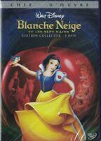 EDITION COLLECTOR 2 DVD BLANCHE NEIGE ET LES SEPTS NAINS WALT DISNEY